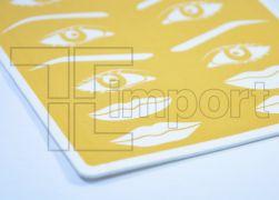 Pele Artificial - E.V.A. Sobrancelhas, olhos e bocas - 15x20cm - Ref. 987 - (Promocao)