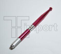 Caneta Tebori Aluminio Vermelho Metálica - Ref.2828