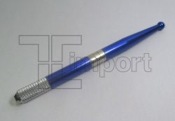Caneta Tebori Aluminio Azul Escuro Metálica - Ref.7170