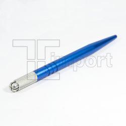 Caneta Tebori Azul Metálica Aluminio Reforçado - Ref.1980