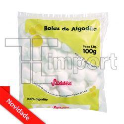 Algodão Bola Branca 100g - Sussex 9650 - (PROMOÇÃO)