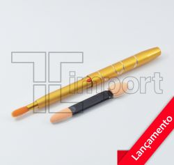 Kit Pincel + Aplicador Para Sobrancelhas - Visage
