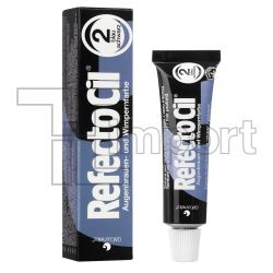 Tintura RefectoCil N°2.0 (Preto Azulado) -15ml