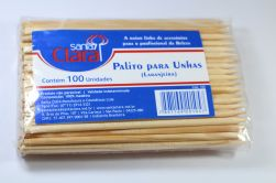 PALITO PARA UNHAS LARANJEIRA  C/100 UNID - REF.105 - Santa Clara