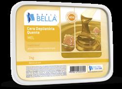 Cera Quente em Barra - MEL 1 kg - Depil Bella