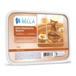 Cera Quente em Barra - CAMOMILA 1 kg - Depil Bella