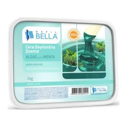 Cera Quente em Barra - ALGAS 1 kg - Depil Bella