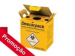 Coletor 3,0 litros para Material Perfurocortante Descarpack - Papelão