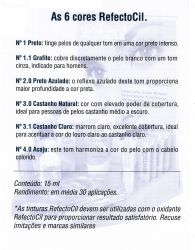 Kit RefectoCil Nº 4.1 (Vermelho) + Oxidante 100ml (NOVO)
