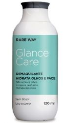 Demaquilante Hidratante Olhos e Face Glance Care 120ml - RareWay