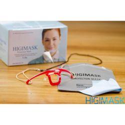 Mascara HIGIMASK M5 Vermelha (Caixinha) - Proteção Salivar