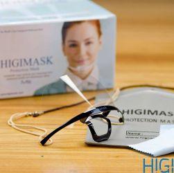 Mascara HIGIMASK M5 Preta (Caixinha) - Proteção Salivar