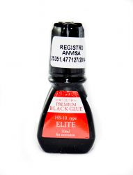 Cola Cilios Premium Black ELITE HS10- 10ml