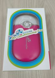 Mini Ventilador Rosa Escuro - Bateria Recarregavel (Promocao)