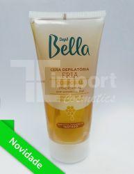 Cera Depilatória Fria Bisnaga 200g - Tradicional com Extrato de Mel - Depil Bella