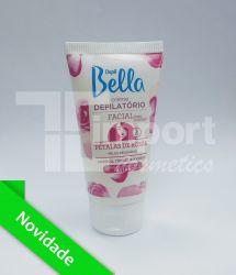 Creme Depilatório Facial  Pétalas de Rosas  40g - Depil Bella