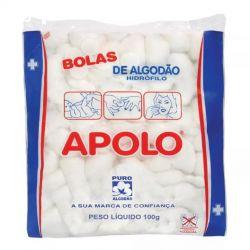 Bolas de Algodao 100g - APOLO - (NOVIDADE)