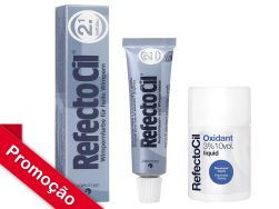 Kit  RefectoCil N°2.1 (Azul Profundo) + Oxidante 100ml (NOVO)