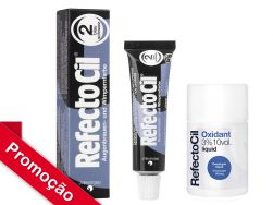 Kit  RefectoCil N°2.0 (Preto Azulado ) +Oxidante 100ml