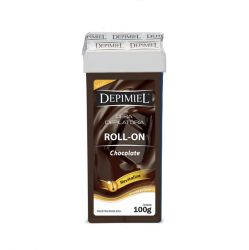 Cera Roll-On Chocolate 100g Depimiel - DEPIMIEL
