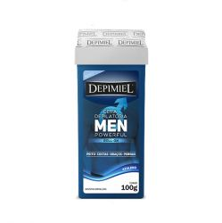 Cera Roll-On MEN 100g Depimiel - DEPIMIEL