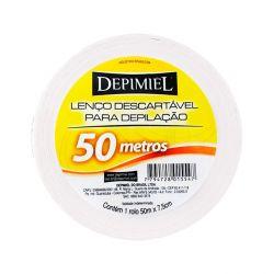 Lenços Descartaveis para Depilacao Papel 50 Mts.  - DEPIMIEL