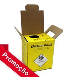 Coletor 1,5 litros para Material Perfurocortante Descarpack