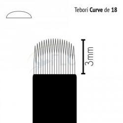 CANETA TEBORI CAN CAN - 12 PONTAS - PINCEL - DESCARTAVEL