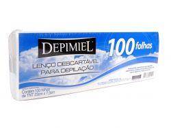 Lenços Descartaveis para Depilacao TNT 100 unid.  - DEPIMIEL