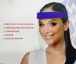 Mascara Protetora Facial Azul -  Santa Clara - ref.5345