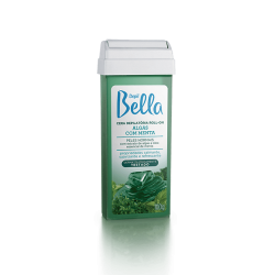 Cera Roll-on REFIL ALGAS COM MENTA - 100g - Depil Bella