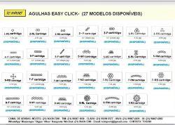 Agulha Easy Click 9-F Linear