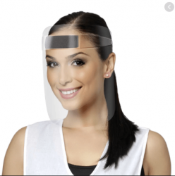 Mascara Protetora Facial transp -  Santa Clara - ref.5346