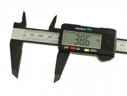 Paquimetro Digital Profissional - 15cm + Bateria - TC Cosmetics
