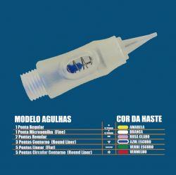 Agulha 5 pontas Linear - GR Basic / PLA 6000 (Promoção)