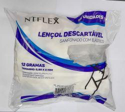 Lencol Descartavel  c/Elastico c/15 unid Gr12 - NTFlex