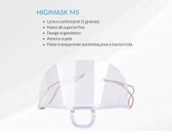 Mascara HIGIMASK M5 (Sem Caixa) Unid- Proteção Salivar